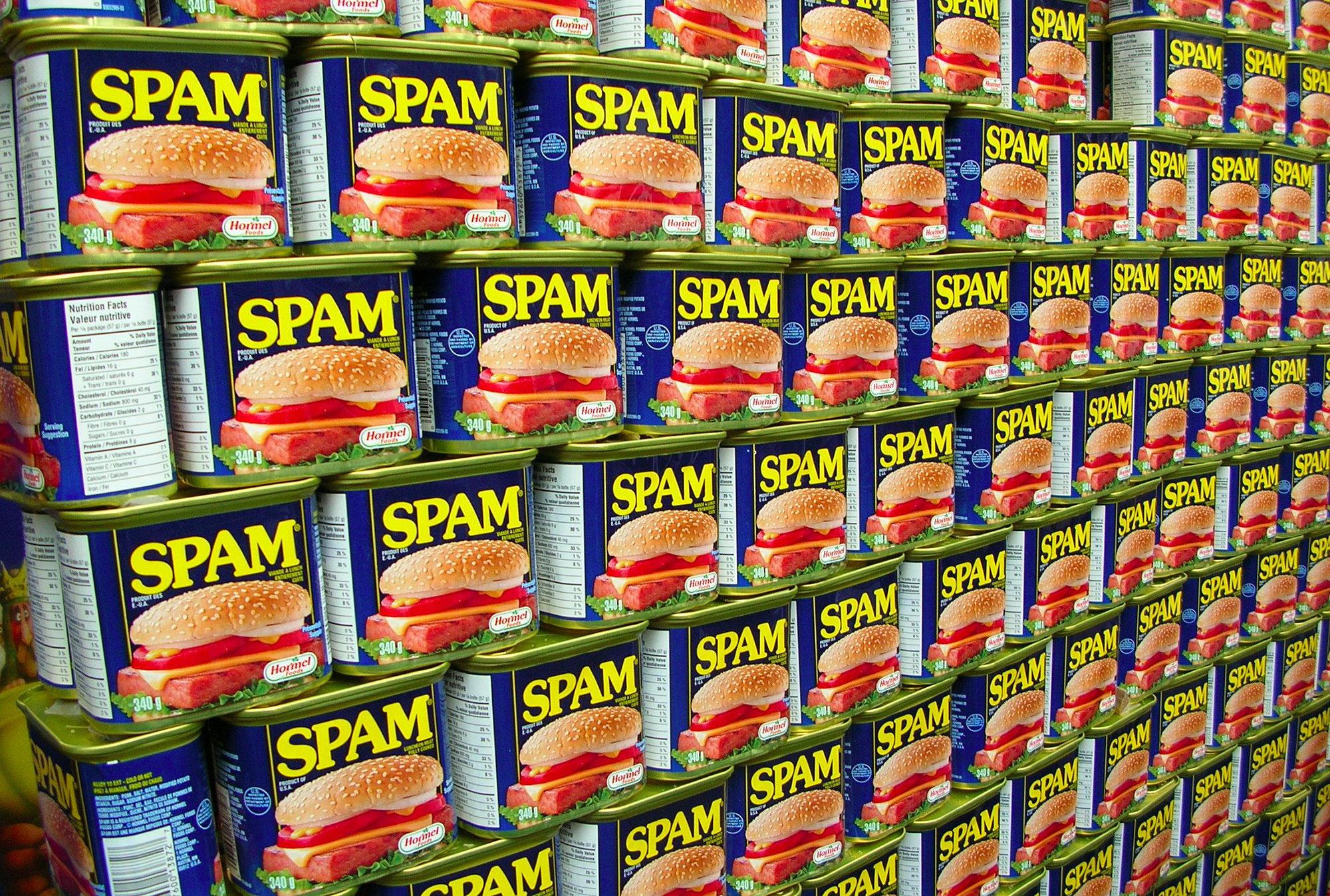 SPAM – Cos'è e cosa significa.
