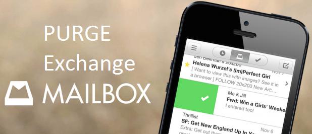 Come eliminare tutto il contenuto della cassetta postale di un utente Exchange