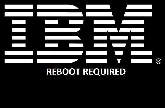 IBM iSeries Client Access 7.1 reboot pending