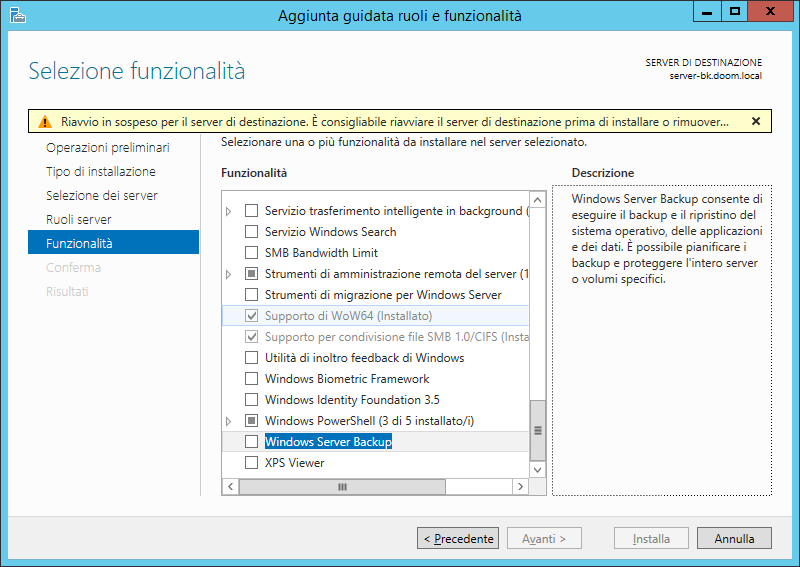 WindowsServerBackup