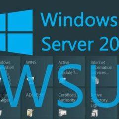 Installazione e Configurazione WSUS Server su Windows Server 2012 R2