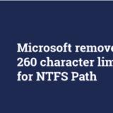 Nomi e percorsi file troppo lunghi Windows 10 corre ai ripari.
