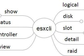 HP Smart Array CLI commands da shell SSH su host ESXi