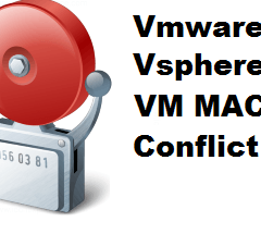 Risoluzione dell'allarme VM MAC Conflict con le repliche di Veeam Backup
