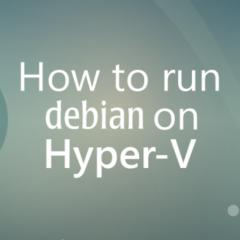 Installare LSI ( Linux Integration Services ) Hyper-V su Debian 8