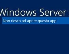 Windows Server Non riesco ad Aprire questa APP ( edge, internet eplorer,calc,etc )