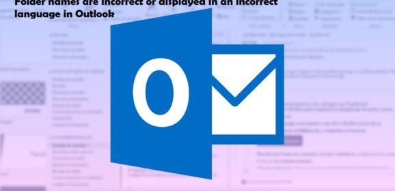 Modificare lingua cartelle Outlook Exchange Online – Office365