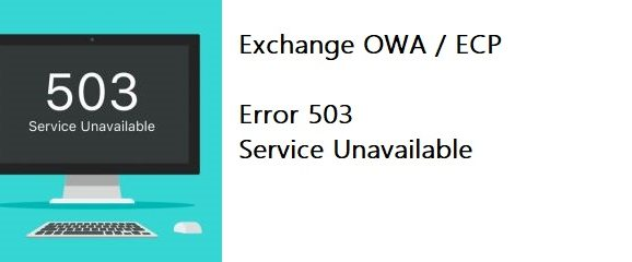 FIX error HTTP 503 di Exchange. Il servizio non è disponibile